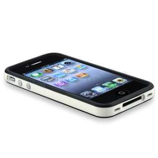 White/Black Metal Button Bumper Frame Case Cover Accessory For Apple