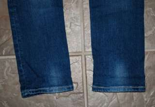 MISS ME by Mek CRYSTAL Wide Pick Stitch SKINNY Jeans sz 29 x 34 MINT