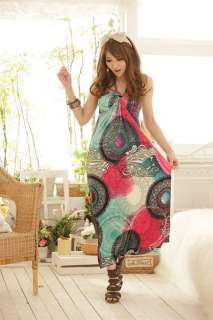 2012 new Fashion Women Sexy Long Maxi Dress Beach Dress Skirt lady
