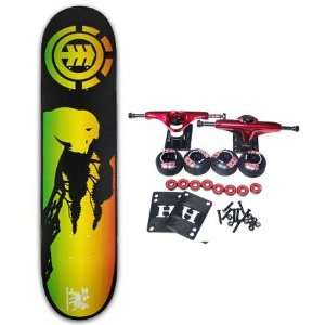 SKATEBOARDS Complete Skateboard RASTA IRIE 7.5 Sports & Outdoors