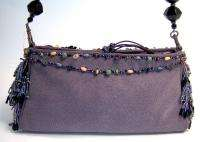 MARY FRANCES Lofty Lavender Shoulder Handbag Bag 1858 NWT