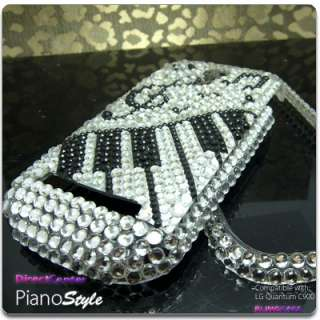 BLING Crystal Hard Skin Case Cover LG Quantum C900