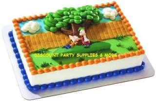 Phineas & Ferb Agent P Cake Kit Decoration Topper Set