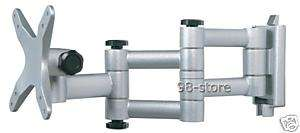 LCD LED ARM Wall Mount DLP HDTV Monitor Swivel 13~30
