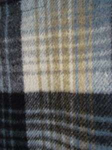 Wool Shirt, sz. L XL, Traverse Bay Woolen Co., Michigan, Plaid
