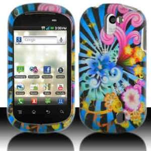 Blue Horizon Wave LG C729 Double Play Rubber Texture Snap