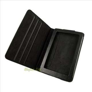 Leather Stand Case Cover for  Kindle Fire 7 Tablet