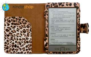 NEW  Kindle Animal Print Leopard Case / Cover 4   QUICK SHIP USA