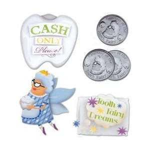 Karen Foster Tooth Fairy Stacked Stickers 5/Pkg KF00531; 3 Items/Order
