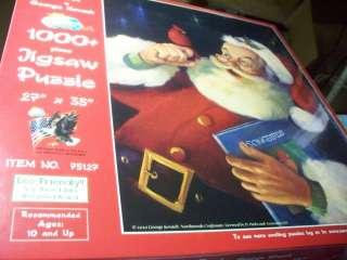 George Kovach Christmas Red 1000+ Piece Jigsaw Puzzle