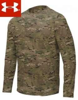New Under Armour Tactical Camo Multicam Heatgear Loose Fit T Shirt