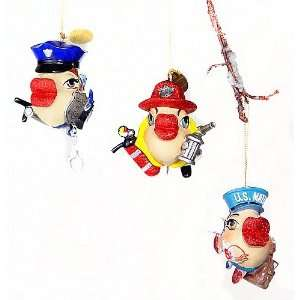 Katherines Collection Uniform Kissing Fish Ornament Set of