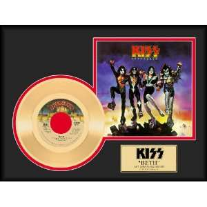 KISS Beth framed gold record