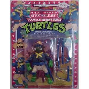 Teenage Mutant Ninja Turtles Tmnt KOOKIE KAVALRY LEO Toys & Games