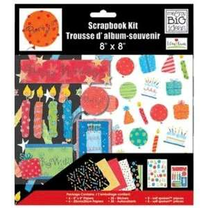 Ellen Krans Birthday 8x8 Scrapbooking Page Kit: Home