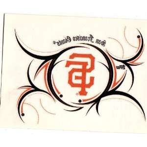 2007 Opening Day Tattoo San Francisco Giants Sports Collectibles