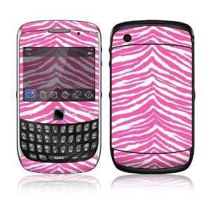 BlackBerry Curve 3G Decal Skin Sticker   Pink Zebra