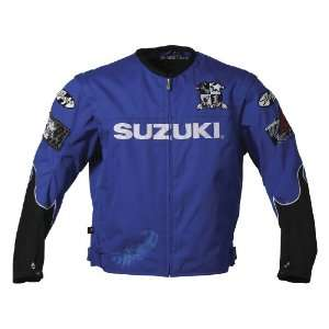 Joe Rocket Suzuki Fuel Mens Textile Motorcycle Jacket Blue