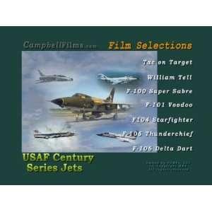 USAF Films Century Series Jets F 100 F 101 F 104 F 105 F 106