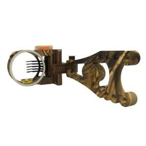 Black Gold .019 Right Hand Amp 5 Pin Bow Sight:  Sports