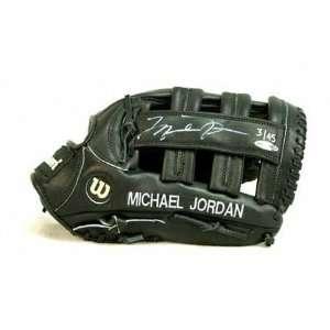 Michael Jordan Autographed Wilson Game Model Baseball Glove