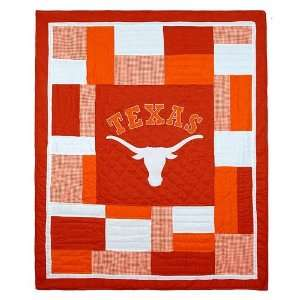 Texas Longhorns Patchwork Quilt Toys & Games
