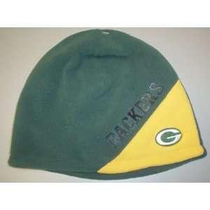 reebok NFL green bay packers green yellow cuffless knit