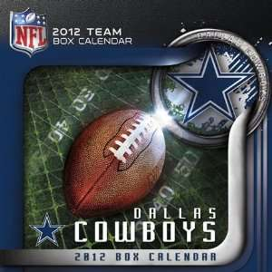Dallas Cowboys 2012 Box (Daily) Calendar: Sports & Outdoors