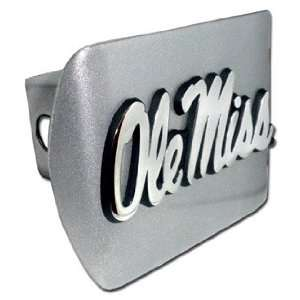 University of Mississippi Brushed Silver with Chrome Ole