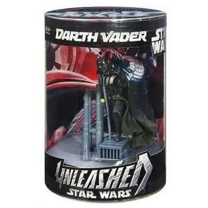 Star Wars Unleashed Darth Vader Action Figure in an