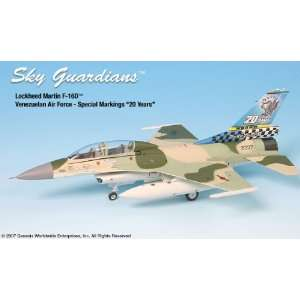 SkyGuardians F 16D Falcon Venezualan Art Model Airplane