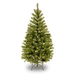 Spruce Hinged Christmas Tree; 150 Clear Lights UL