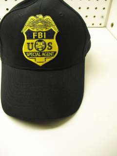 FBI US SPECIAL AGENT POLICE BALL CAP HAT