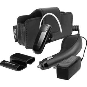 Headset w/ Stand & Case & Car/Travel Charger 635753498875