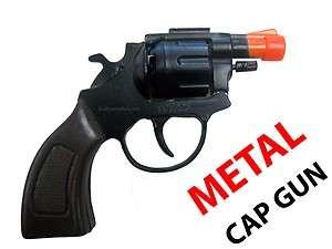 GUN Toy Pistol   Fires 8 Shot Ring Caps   38 Detective Special