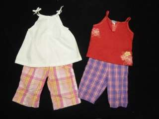 TODDLER GIRL 2T   24 MONTHS SPRING SUMMER OUTFIT CLOTHES LOT BABY 24M
