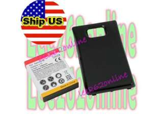 3500mAh Extended Battery For Samsung Galaxy S2 II i9100