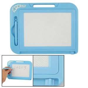 Amico Children Sky Blue Plastic Rectangle Magnetic Powder