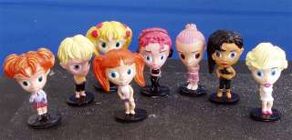 Hey homies, 100 Hip Chics 2 Girl Doll figures 8 styles
