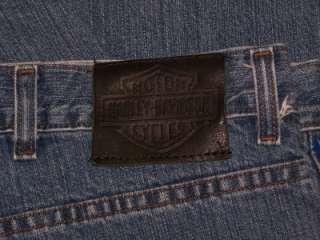 MENS 46 X 32 Genuine HARLEY DAVIDSON Relaxed Leg Jeans ~