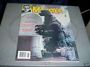MONSTER LAND Horror Magazine June 1985 GODZILLA
