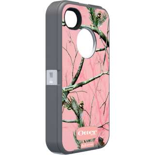 Otterbox Apple iPhone 4S 4 Defender Case AP Pink White Camo Belt Clip
