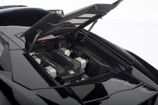 AUTOART 74592 118 LAMBORGHINI REVENT0N BLACK DIECAST MODEL CAR