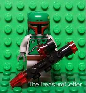 Lego Star Wars Boba Fett Bounty Hunter w/ Blaster Rifle