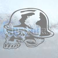Metal Mulisha Skull Helmet Decal Window Sticker