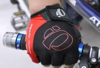 New 2012 BMX Cycling Bike Bicycle Half Finger Gloves RED Size M L XL