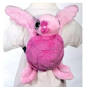 Big Eyed Pink Sea Turtle Backpack 16 by Fiesta Toys & Games