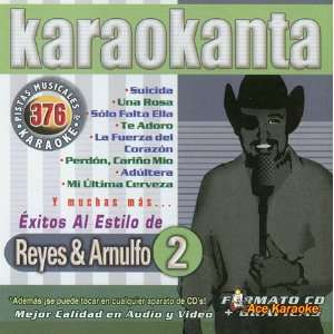 Karaokanta KAR 4376   Al Estilo de Reyes & Arnulfo   II