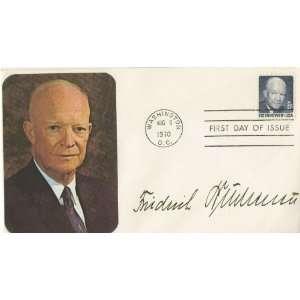 Friedrich Buchenau German WWII General Autographed Vintage