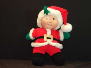 1992 HOLIDAY EDITION CABBAGE PATCH KIDS DOLL SANTA CLAUS STUFFED PLUSH